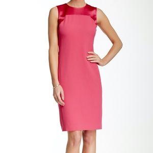 NWT Anne Klein Sleeveless Shift Dress in Blossom